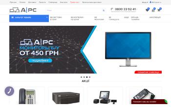 Создание интернет-магазина A PC